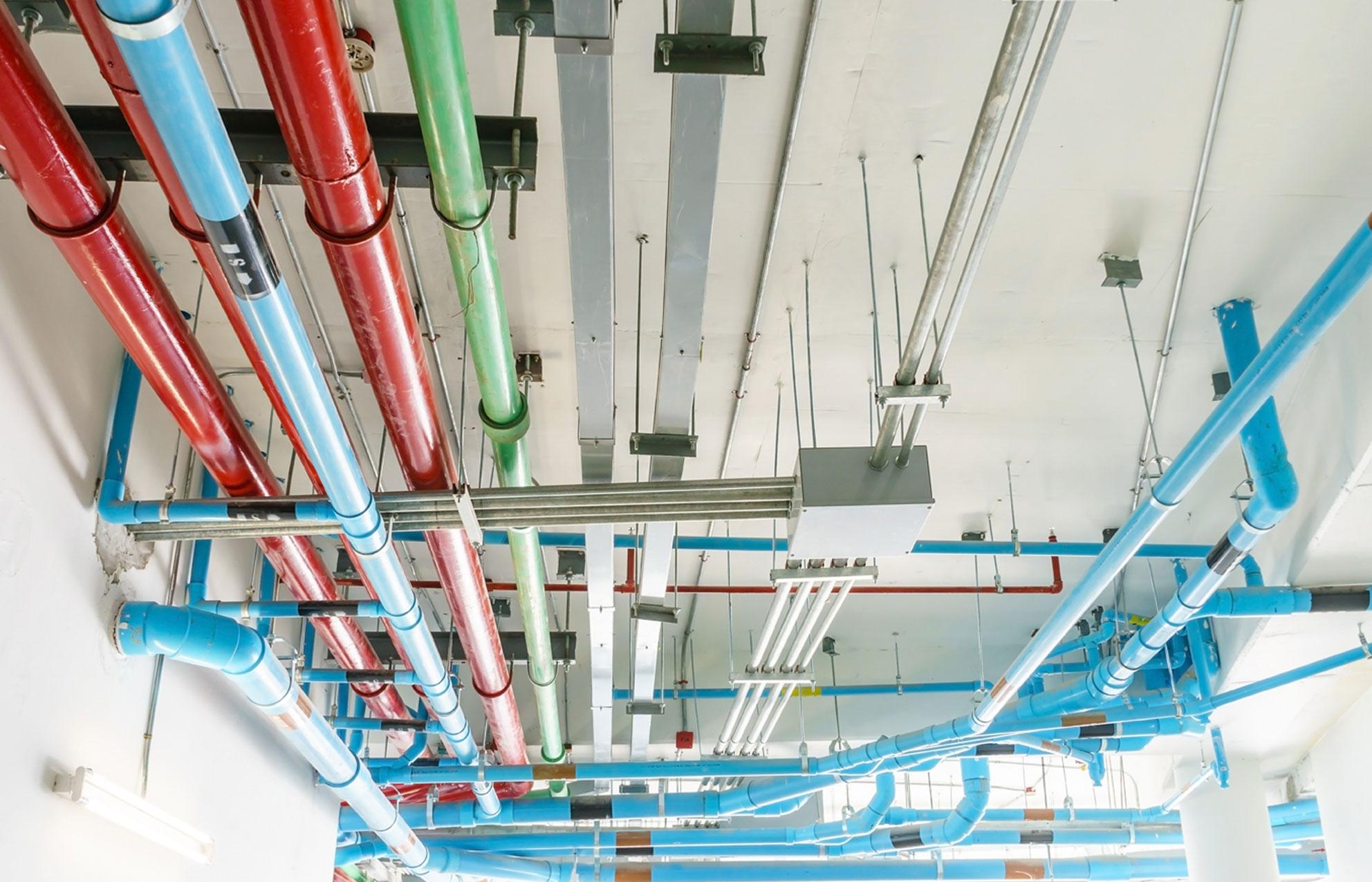 trabajos verticales fontaneria tuberias
